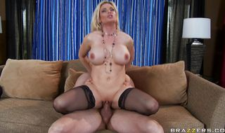 Lovable Diamond Foxxx with firm tits felt like screaming from pleasure while getting ass fucked but she tried not to