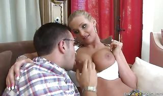 Lusty Phoenix Marie loves having her pierced butt pounded with effort