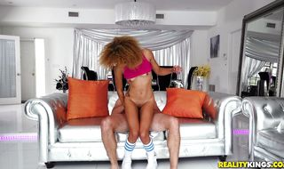 Dishy Xianna Hill a got her tight butt filled up with rock hard cock