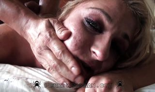 Vigorous blonde perfection got booty fucked in many positions until she had an orgasm