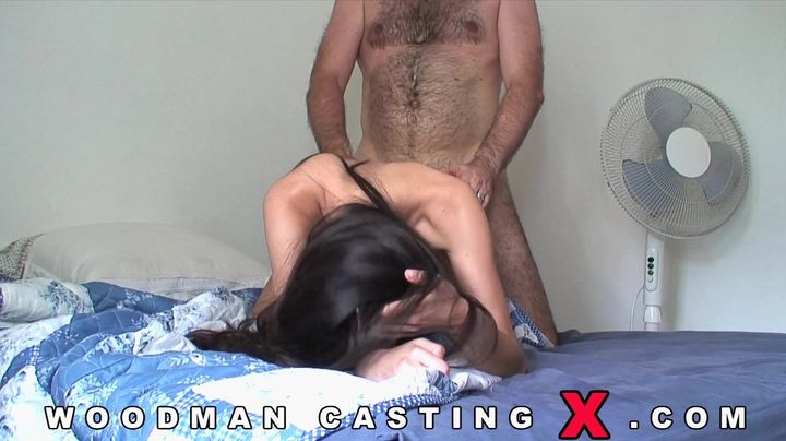 Aroused floozy got ass fucked in a doggy style position until she started moaning from pleasure