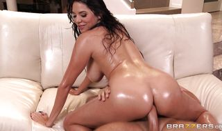 Enchanting latina gal Missy Martinez seems ready and eager for an bum plowing