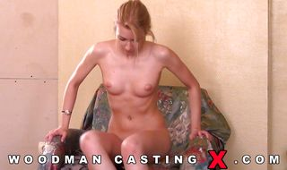 Salacious blonde sweetie itches for a putz pounding but it's her ass that gets screwed