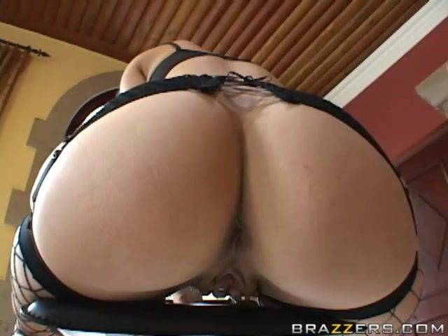 Sensational Bobbi Starr bends over to get her tight butt stuffed with prick