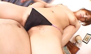 Sausage loving appetizing Sara Nakamura is eager to have anal sex with lad