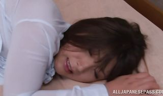 Luxurious Yukina Kurosawa got booty fucked before she even had a decent breakfast