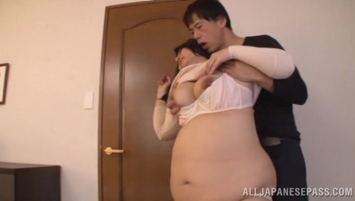 Extraordinary hottie Fujiko Minegishi got gently booty fucked from the back until she had an orgasm