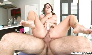 Delightful diva Jada Stevens is getting her tight bum fucked the way she always wanted