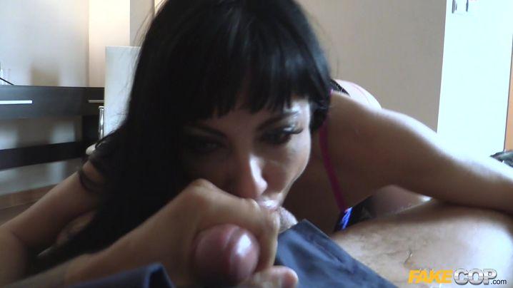 Extraordinary Damaris got ass fucked before she even had a decent breakfast