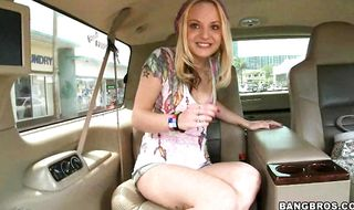 Sensational gal Faye Runaway always wanted to feel a huge pole in her pie and in her bum