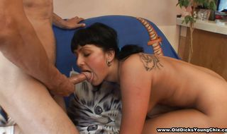 Worshipped Vera bends over to be bum fucked hard