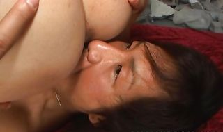 Stupefying gf Fuuka Takanashi strips her clothes and spreads ass