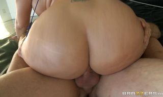 Elegant Madison Rose with massive tits wants her round butt slammed hard