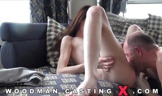 Brunette perfection and buddy went to to have anal sex all day