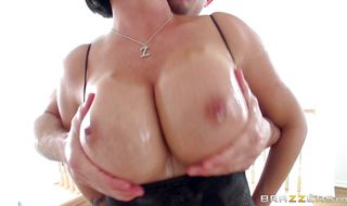 Salacious maid Shay Fox got butt fucked from the back while her husband was out of town