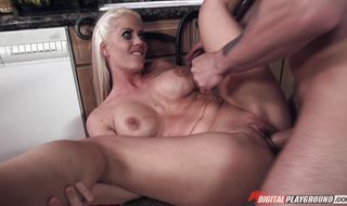 Sensual floozy asked fucker to give her a ride and let him fuck her tight butt
