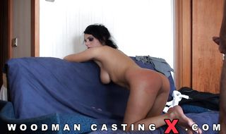 Hardcore anal romp for dazzling maid