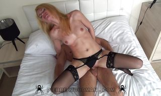 Sassy girl 's tight butt getting bum fucked with so much perfection